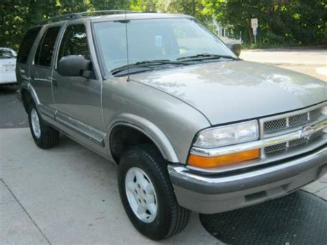 small engine maintenance and repair 1999 chevrolet blazer on board diagnostic system purchase used 1999 chevy blazer ls 4 3 ltr v tec 4x4 abs 4dr auto excellent cond in