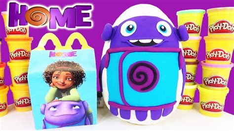 dreamworks home 2015 play doh egg with