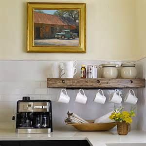 space saver in the kitchen hanging mugs live simply by