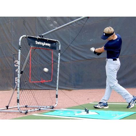softball swing away swingaway xxl baseball softball pro athlete hitting
