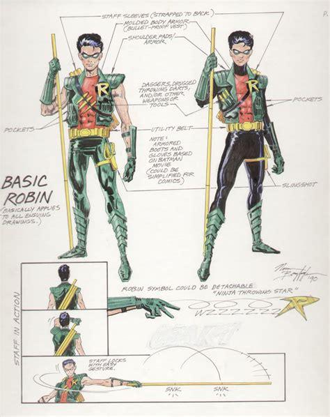 Robin Design by Original Stories Norm Breyfogle S 1990 Robin Redesign