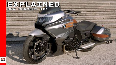 Bmw Motorrad Youtube by Bmw Motorrad Concept 101 Explained Youtube