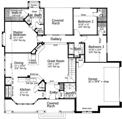 Adhouse Plans by Hill Country Farmhouse 12507rs Architectural Designs