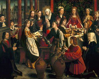 Wedding Feast At Cana In Matthew by Did Jesus Dis At The Wedding At Cana Nope