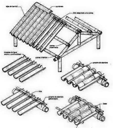 membuat jemuran lipat dari bambu begini cara membuat atap rumah dari pohon bambu khsblog d
