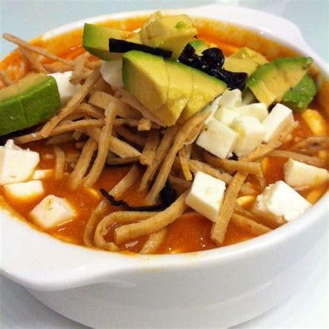imagenes sopa azteca receta de sopa de tortilla exquisita recetas de allrecipes