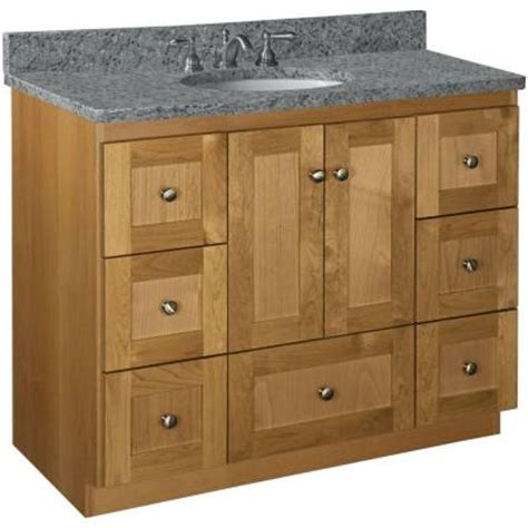 Shaker Cabinets Home Depot by Simplicity By Strasser Shaker 42 In W X 21 In D X 34 5
