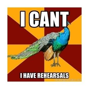 Peacock Meme - thespian peacock meme generator polyvore