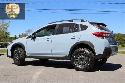 subaru crosstrek lifted 2018 subaru crosstrek lift kit tires wheels lp