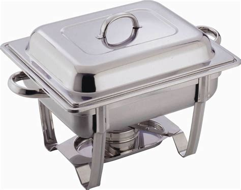 stainless steel buffet heater chafing dish hotpot set 4 5l