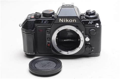 nikon rugged rugged nikon n2020 af 35mm student slr black works great ebay