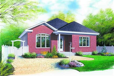 In Law Suites by Small Bungalow Contemporary European House Plans Home