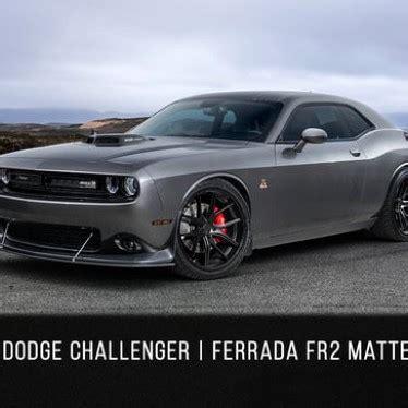 2016 dodge challenger srt scatpack | ferrada fr2 matte