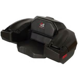 wes classic atv cargo seat series discountrs