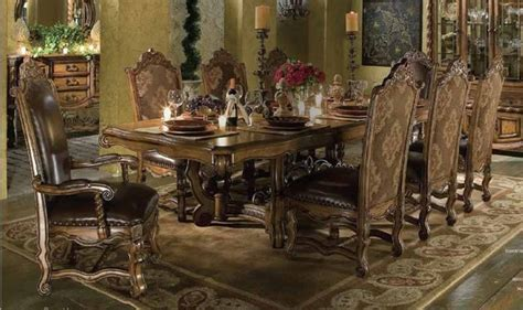 aico furniture acasa dining room table set 36002