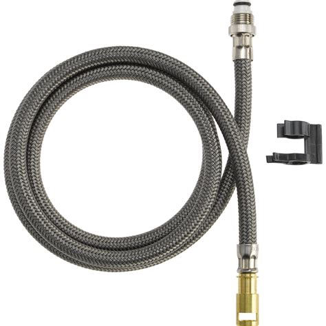 kitchen faucet hoses delta palo pullout spray hose pullout kitchen faucet