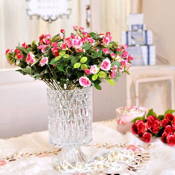 Putting Roses In A Vase by Buy 1set Artificial Roses Bouquets Fence Vase Slik Flowers Plants For Wedding Home