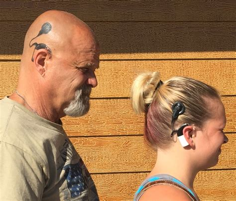 cochlear implant tattoo loved ones celebrate cochlear implants with tattoos