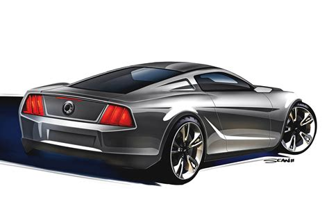 mustang 2015 concept or not 2015 mustang concept rendering