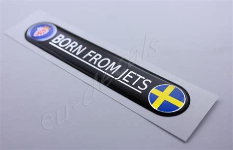 Saab Stickers Decals