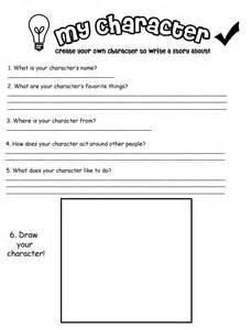 character development worksheets character worksheet