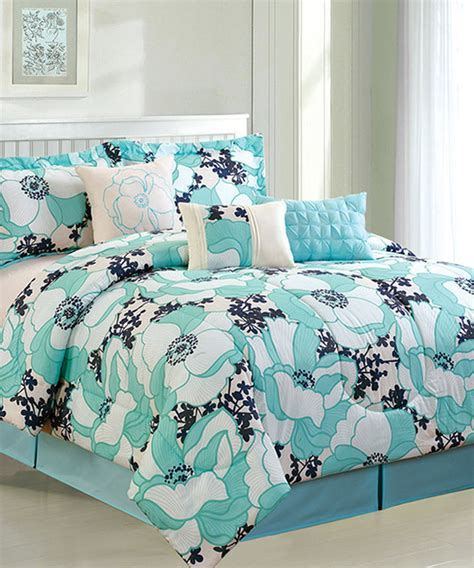 aqua and black bedding aqua black romenya comforter set contemporary comforters