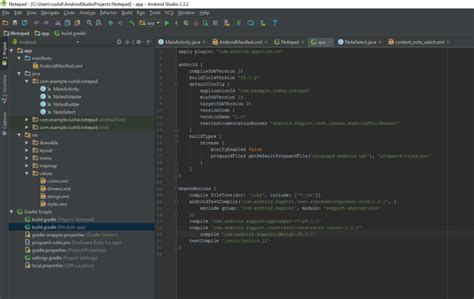 tutorial android studio gradle android studio tutorial for beginners tour4learn