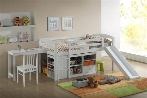 childrens bunk bed with slide top 10 loft beds with slides