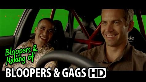 Fast And Furious Bloopers | fast furious 4 2009 bloopers outtakes gag reel quot paul