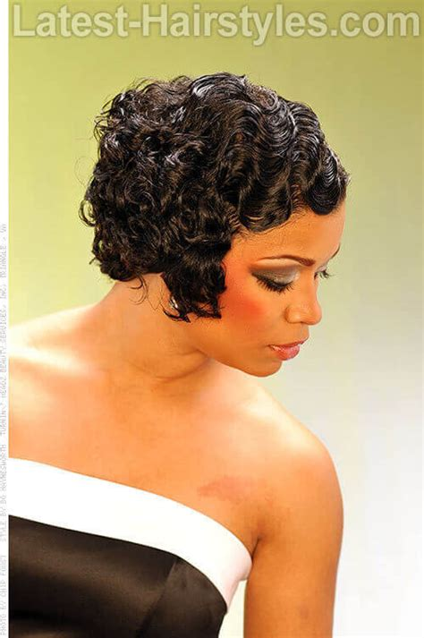 Finger Waves Black Hairstyles 2014 by 18 Perfectly Gorgeous Hairstyles For Prom