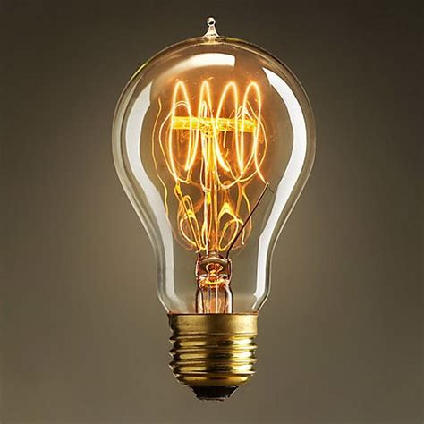 Filament Light Bulb Fixtures Loop Filament Vintage Retro Antique Industrial Edison Style Light Bulb Ebay