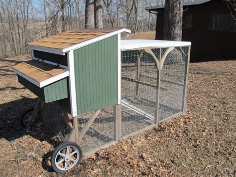 Mobile Chicken Shed by How To Raise Backyard Chickens The Of Manliness