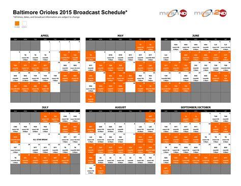 printable orioles schedule 2015 baltimore newhairstylesformen2014 com
