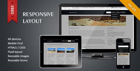 html5 css3 layout design responsive html5 css3 layout by twelve codecanyon
