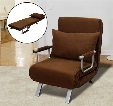 Recliner Sleeper Chair Sofa Bed Arm Chair Convertible Single Room