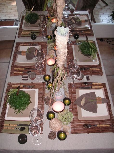 Decoration Table Nature by A Table Photo De Table Nature A Table C 244 T 233 D 233 Co