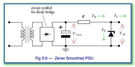 zener diode in bridge rectifier power supplies page 3 the zener diode