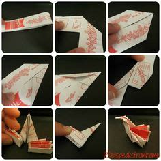 origami boat chopstick rest tiny origami boat how to make a chopstick rest hashioki