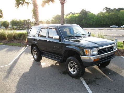 airbag deployment 1994 toyota 4runner transmission control find used 1994 toyota 4runner v6 4wd in charleston south carolina united states