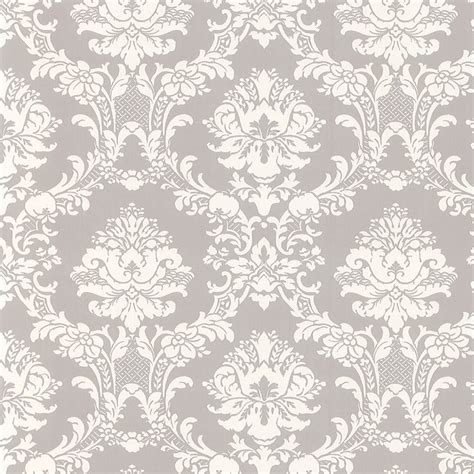 grey victorian pattern white on gray victorian stencil floral damask wallpaper