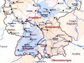 Map Of Southern Germany by The 37 Trains We Rode