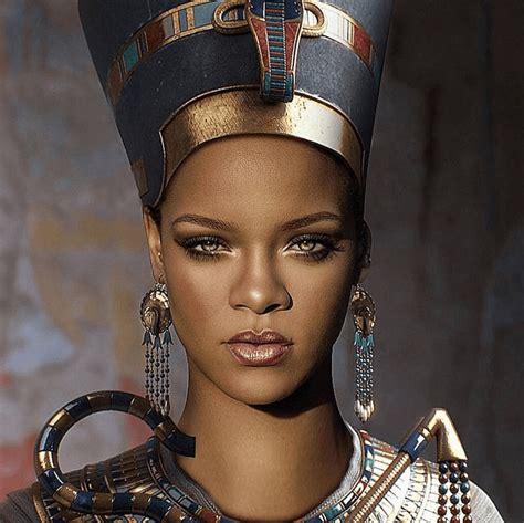 rihanna ancient egyptian queen nefertiti tattoo photos rihanna reine en vogue moifemmes