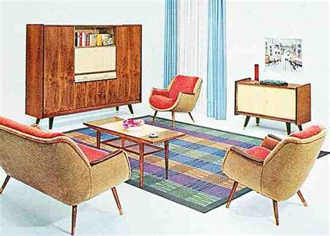 wohnzimmer 50er stil wohnzimmer 60er stil my
