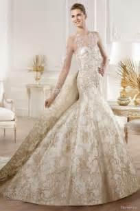 white gold wedding dresses top 10 gold wedding dresses