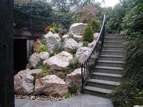garten mit steinen nowaday garden
