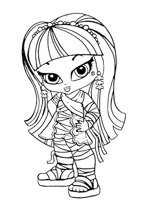 dibujos para colorear de monster high de beb s dibujos colorear monster high beb 233 s imagui