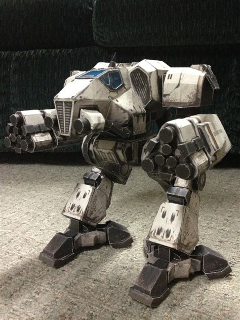 Mechwarrior Papercraft - mechwarrior supernova papercraft mechs