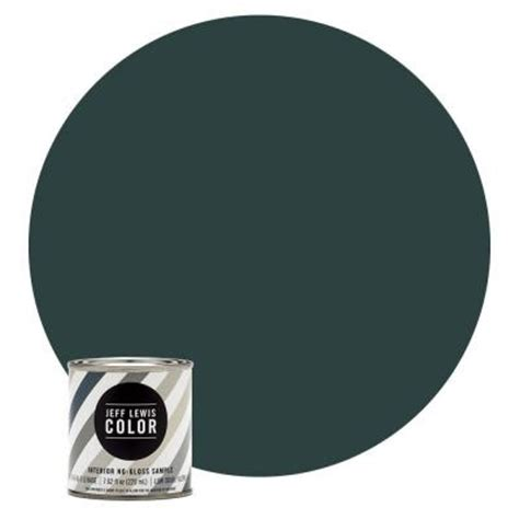 jeff lewis color 8 oz jlc514 green with envy no gloss ultra low voc interior paint sle