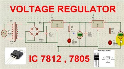 lm7805 voltage regulator circuit wiring diagrams wiring