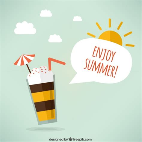 Enjoy Summer enjoy summer vector free